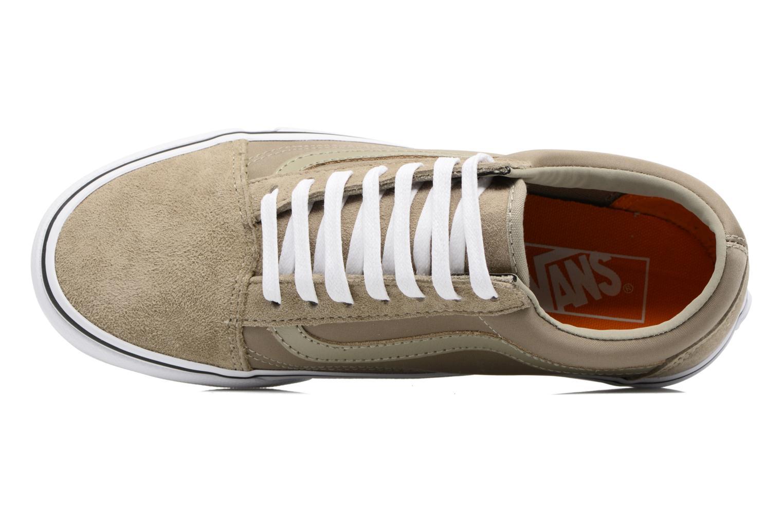 Sneakers Vans Old Skool W Beige immagine sinistra