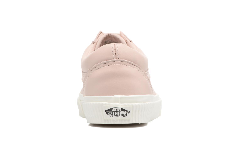 Sneakers Vans Old Skool W Pink Se fra højre