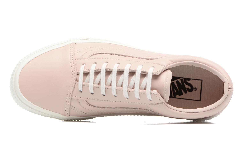 Sneakers Vans Old Skool W Pink se fra venstre