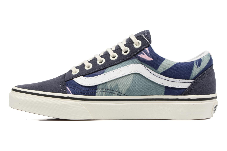 Sneakers Vans Old Skool W Blå bild från framsidan