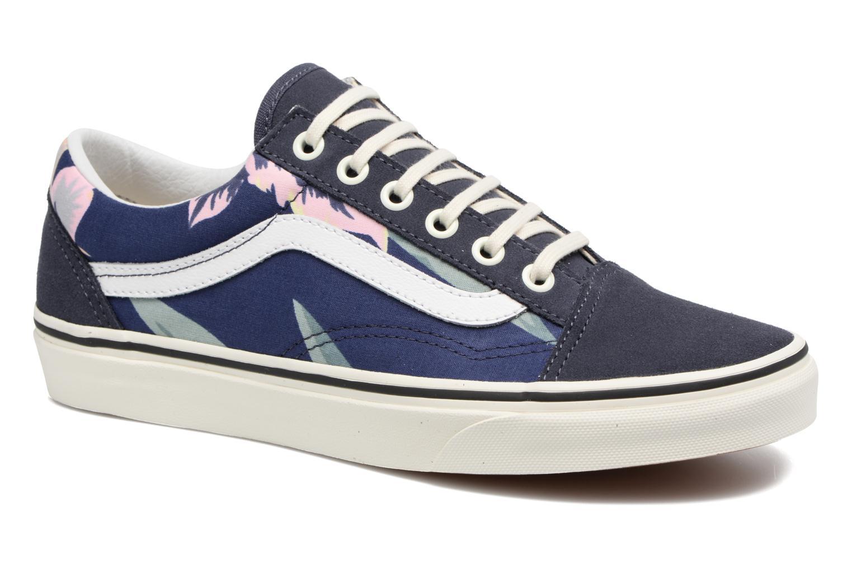 Sneakers Vans Old Skool W Blå detaljerad bild på paret