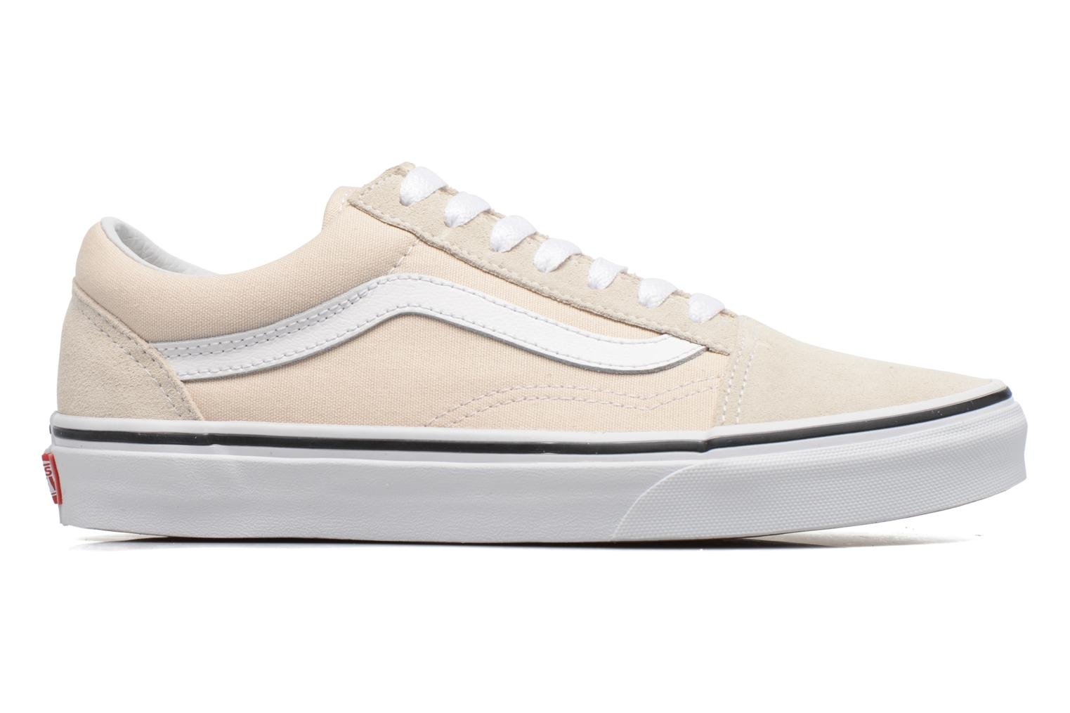 Trainers Vans Old Skool W Beige back view
