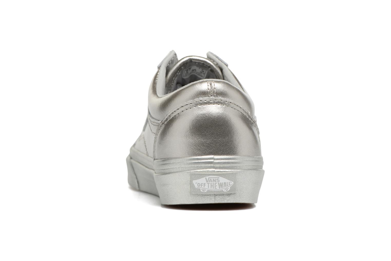 Sneaker Vans Old Skool W silber ansicht von rechts