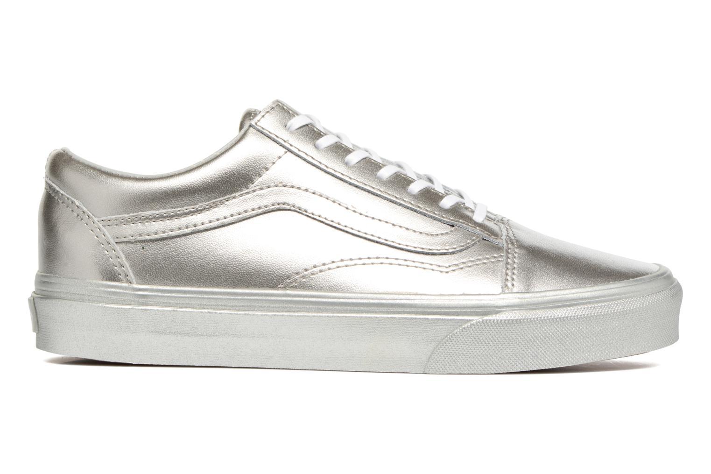 Sneaker Vans Old Skool W silber ansicht von hinten