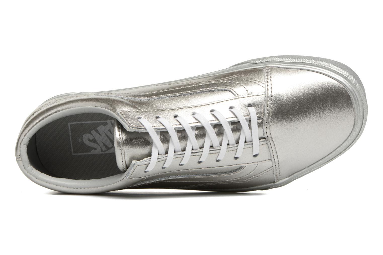 Sneaker Vans Old Skool W silber ansicht von links