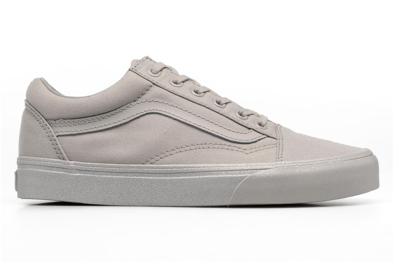 Trainers Vans Old Skool W Grey back view