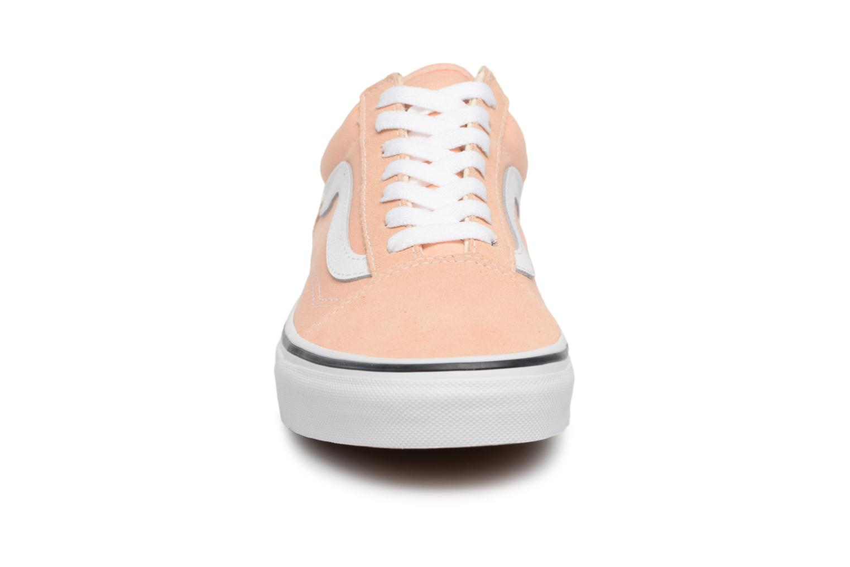 Bleached Old Vans White true W Apricot Skool nxv8770Sqw