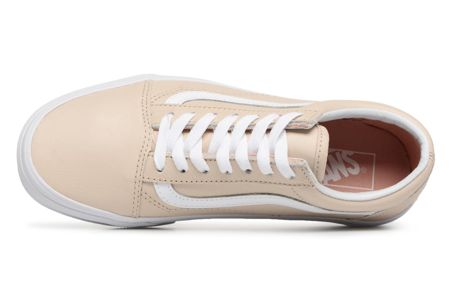 Old Skool W Sand Dollar Vans leather Fw8qd6x
