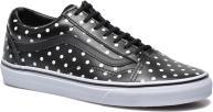 (Leather Polka Dots) black