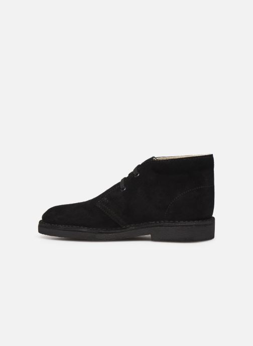 Bottines et boots Clarks Desert Boot Noir vue face