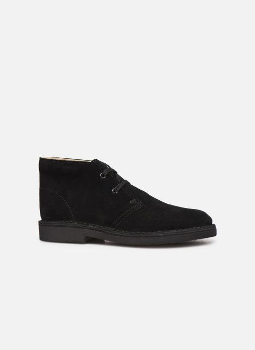 Botines  Clarks Desert Boot Negro vistra trasera