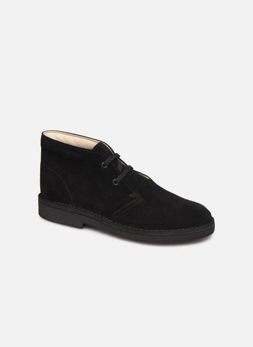 Ankelstøvler Clarks Desert Boot Sort detaljeret billede af skoene