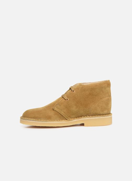 Bottines et boots Clarks Desert Boot Marron vue face