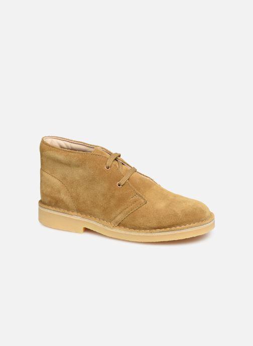 Stiefeletten & Boots Clarks Desert Boot braun detaillierte ansicht/modell