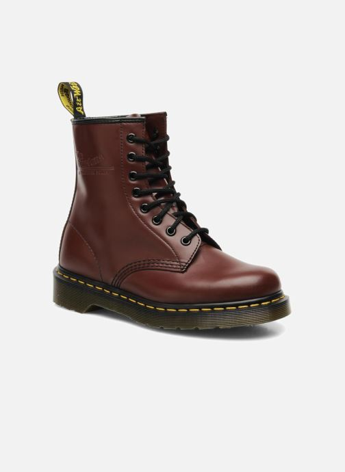 Stiefeletten & Boots Dr. Martens 1460 Smooth rot detaillierte ansicht/modell