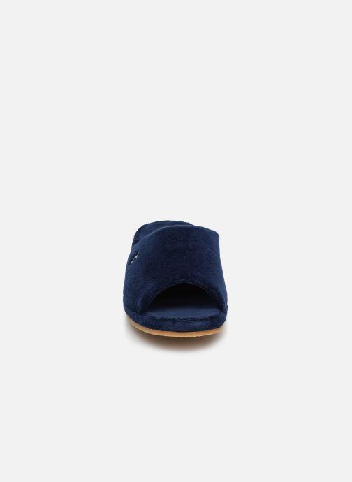 Hausschuhe Romika Paris blau schuhe getragen