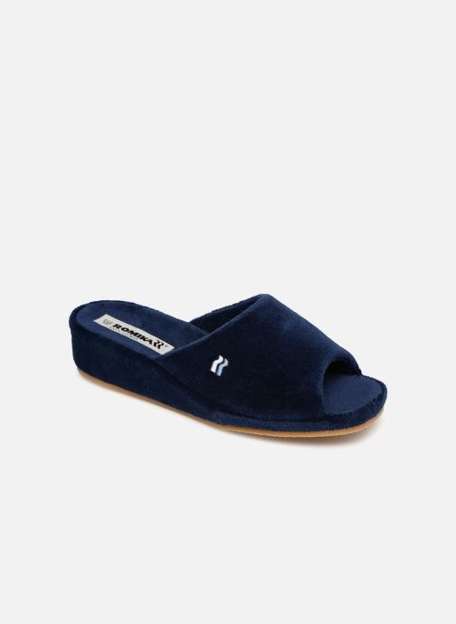 Slippers Romika Paris Blue detailed view/ Pair view