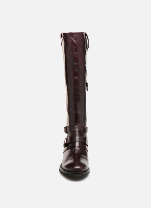 Bottes Jonak Mirta Bordeaux vue portées chaussures