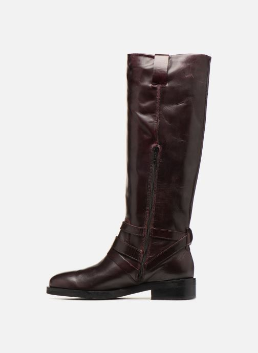 Boots & wellies Jonak Mirta Burgundy front view
