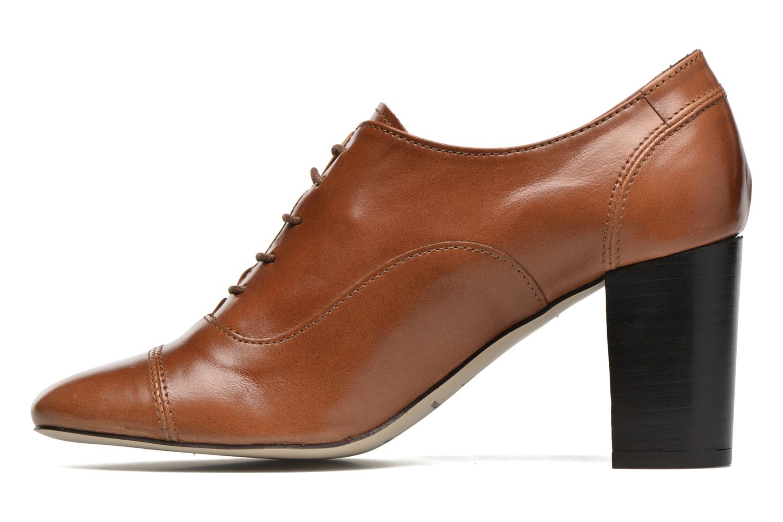 Snörade skor Jonak Anna Brun bild från framsidan