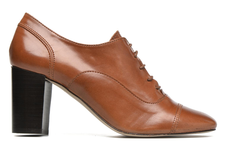 Snörade skor Jonak Anna Brun bild från baksidan