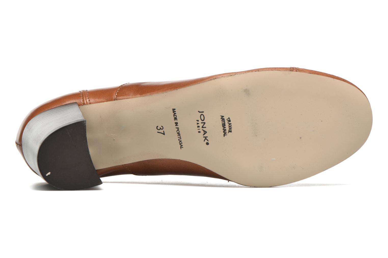 Snörade skor Jonak Anna Brun bild från ovan