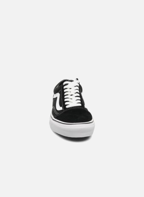 Baskets Vans Old Skool Noir vue portées chaussures