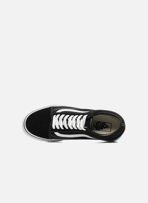Sneaker Vans Old Skool schwarz ansicht von links