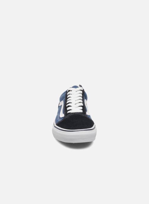 Baskets Vans Old Skool Bleu vue portées chaussures