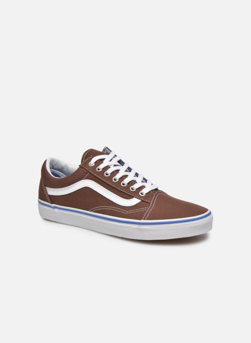 Vans Old Skool (Marron) - Baskets chez Sarenza (261911)