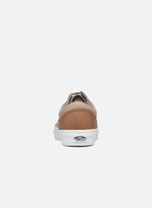 Sneaker Vans Old Skool beige ansicht von rechts