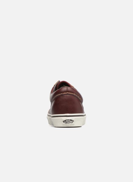 Baskets Vans Old Skool Marron vue droite