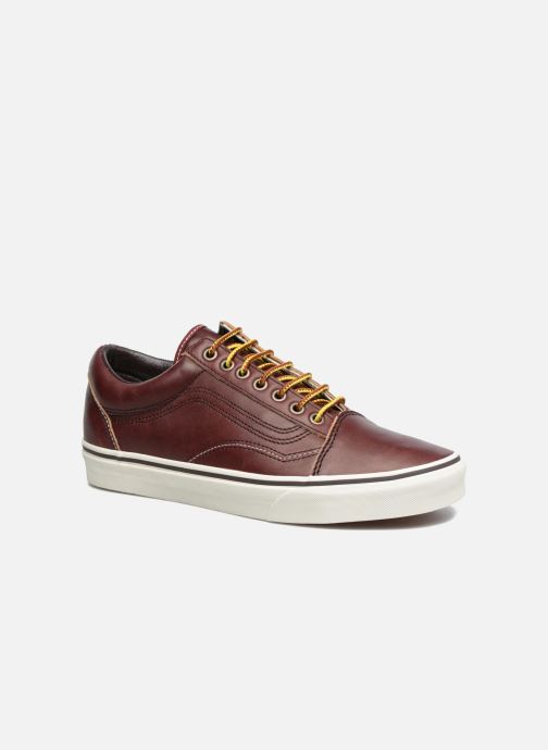 Baskets Vans Old Skool Marron vue détail/paire