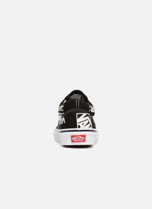 Baskets Vans Old Skool Noir vue droite