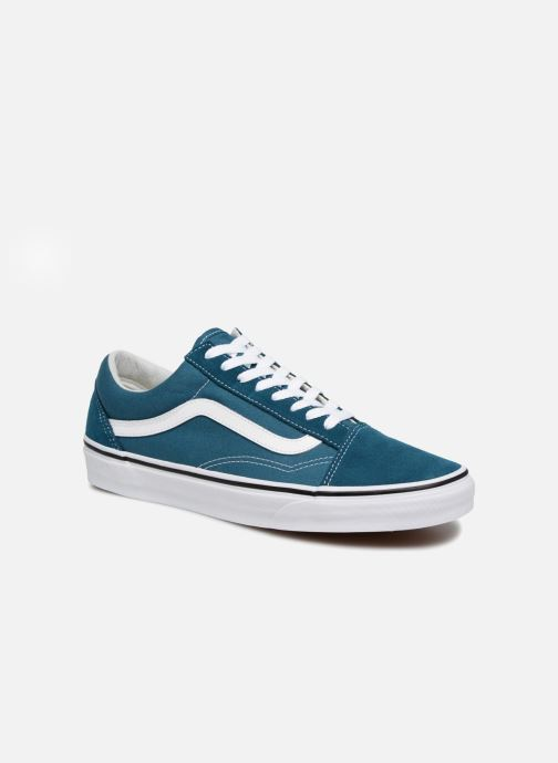 Vans Old Skool (Bleu) - Baskets chez Sarenza (332972)