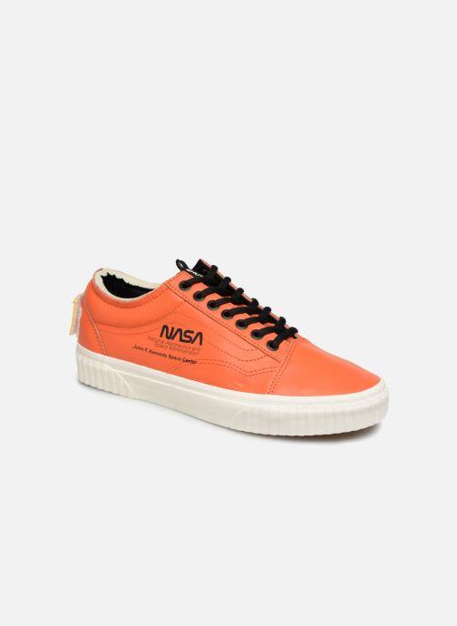 Baskets Vans Old Skool Orange vue détail/paire