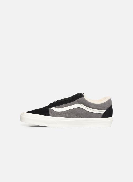 Sneaker Vans Old Skool schwarz ansicht von vorne