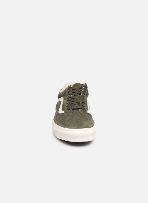 Trainers Vans Old Skool Green model view