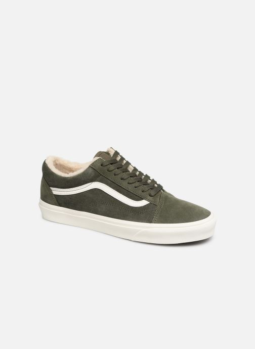 Trainers Vans Old Skool Green detailed view/ Pair view