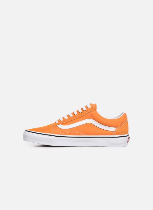 vans old skool femme orange