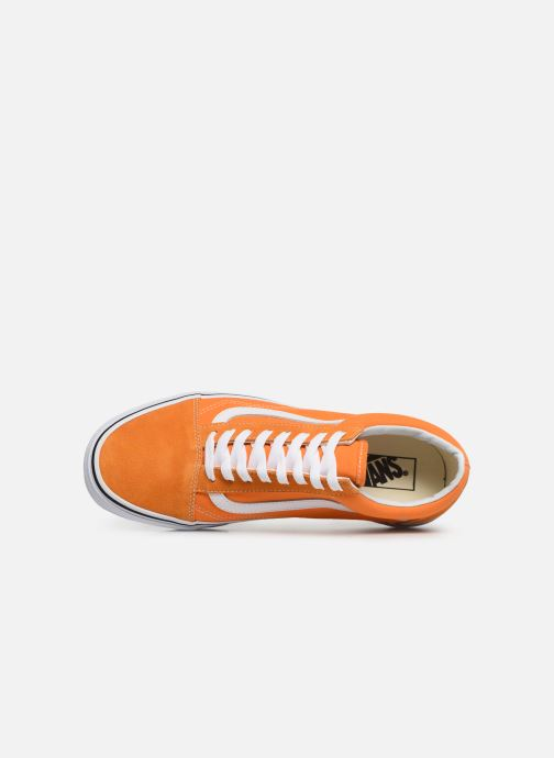 Sneaker Vans Old Skool orange ansicht von links