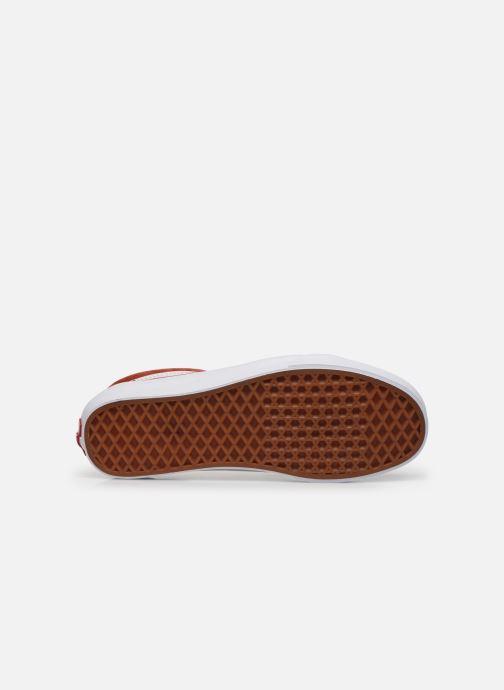 Baskets Vans Old Skool Orange vue haut