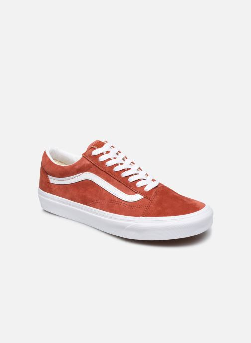Baskets Vans Old Skool Orange vue détail/paire