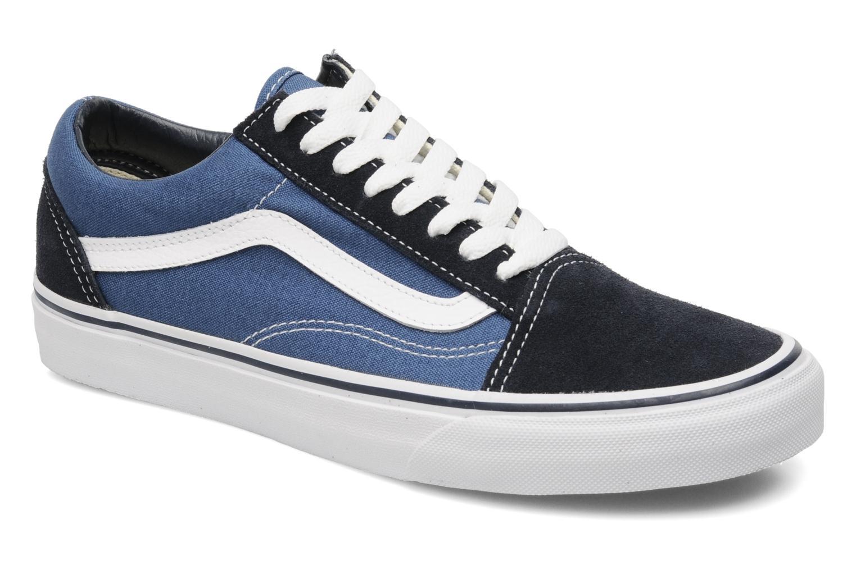 Vans Old Skool (Bleu) - Baskets en Más cómodo Mode pas cher et belle
