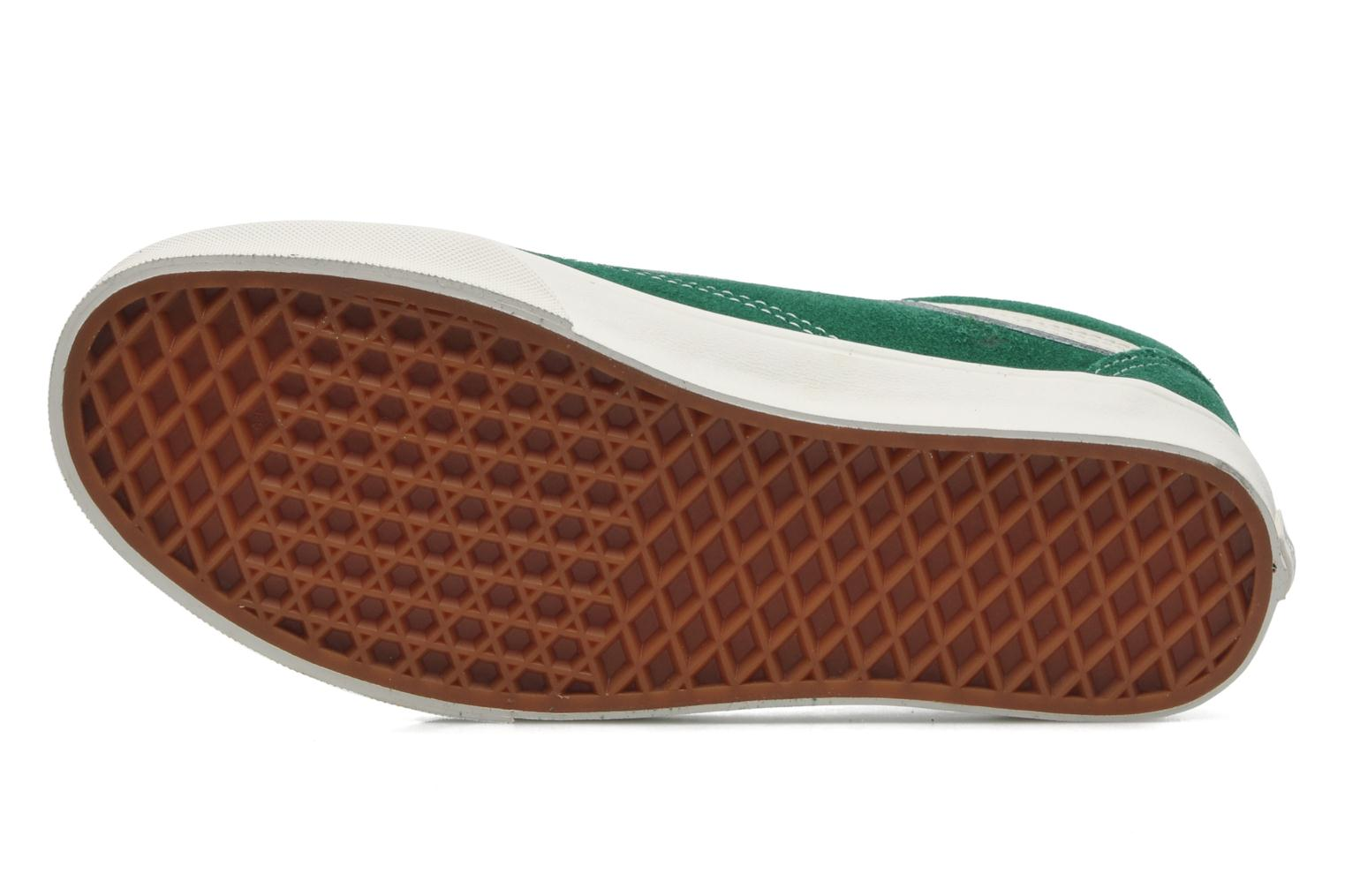 Trainers Vans Old Skool Green view from above