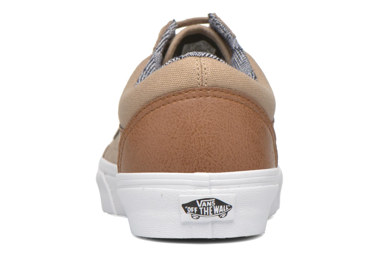 Sneakers Vans Old Skool Beige Se fra højre