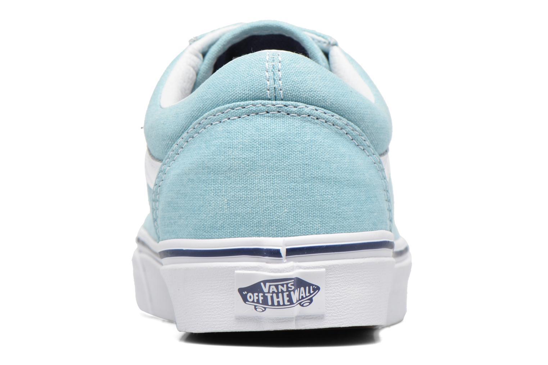 Sneakers Vans Old Skool Azzurro immagine destra