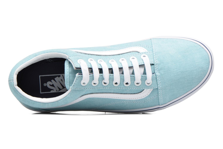 Sneakers Vans Old Skool Azzurro immagine sinistra
