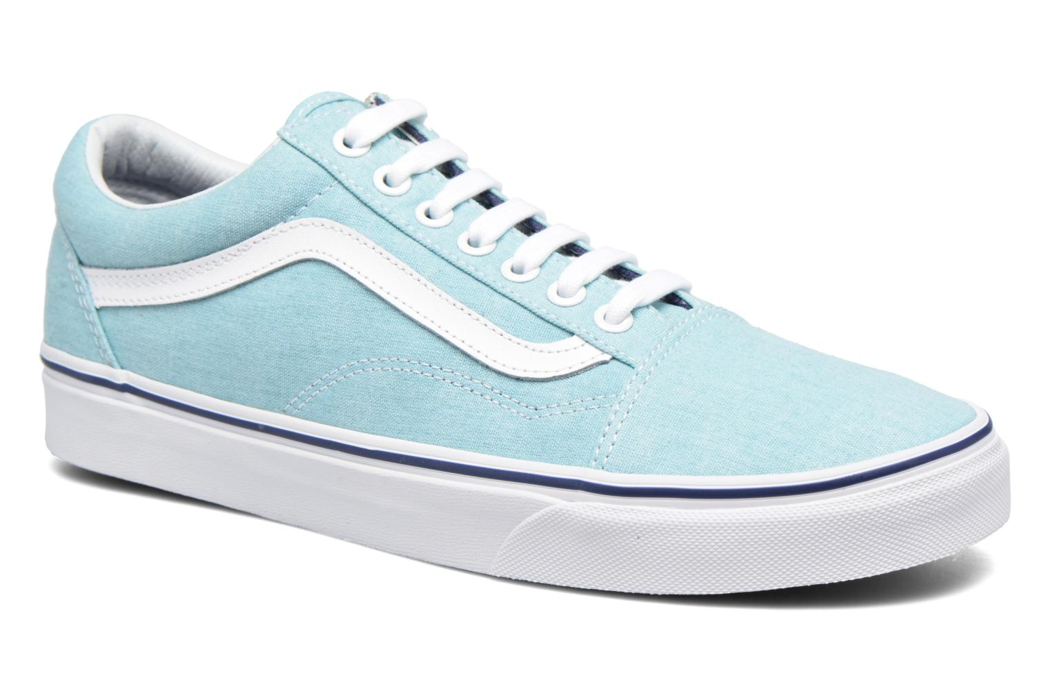 Sneakers Vans Old Skool Blauw detail