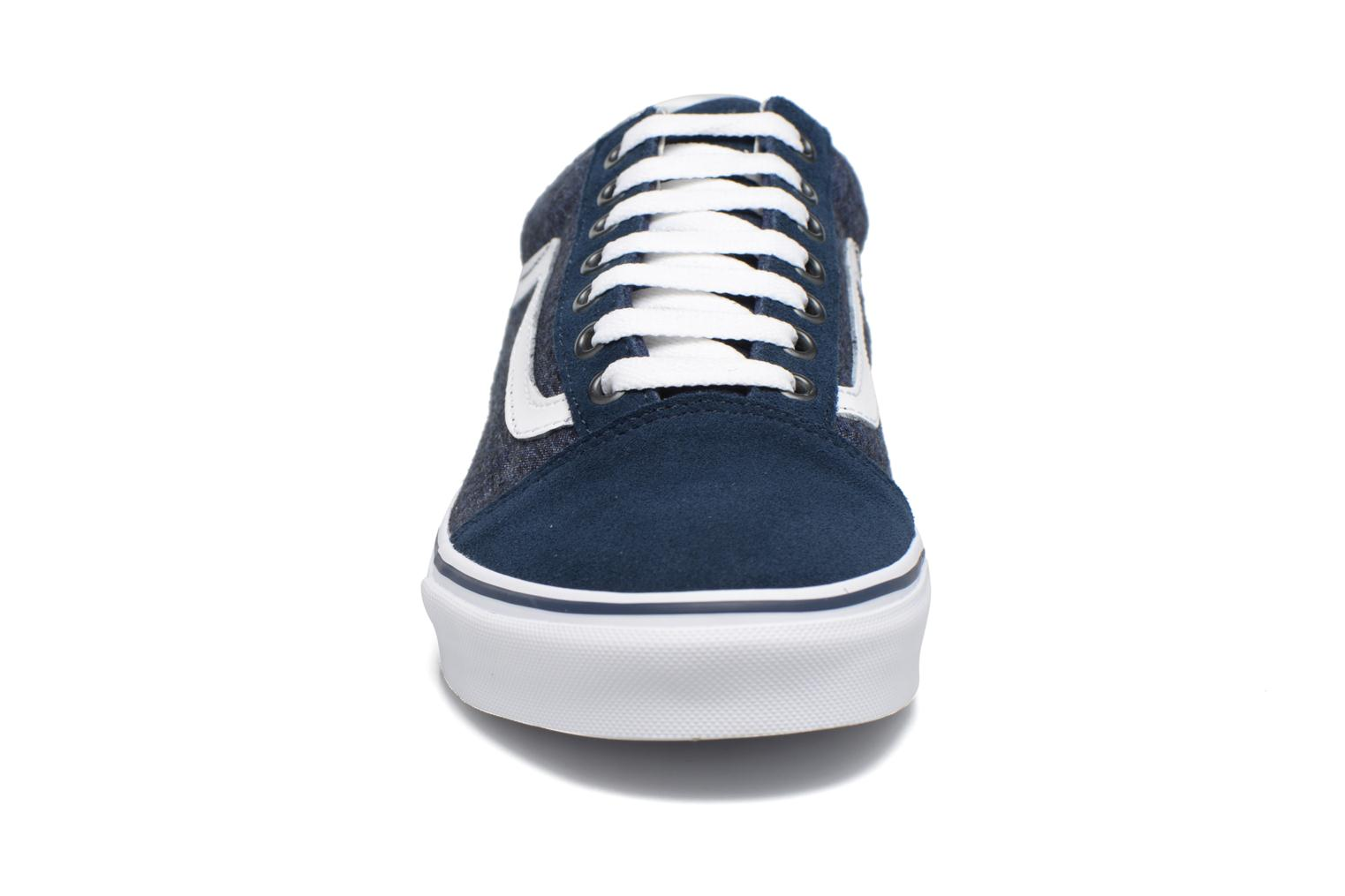Trainers Vans Old Skool Blue model view